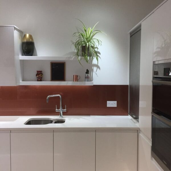 Metallic Splashbacks