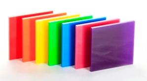 Coloured Glass Samples